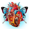 Butterfly Heart Print - Sarah Howell Limited Edition - 1