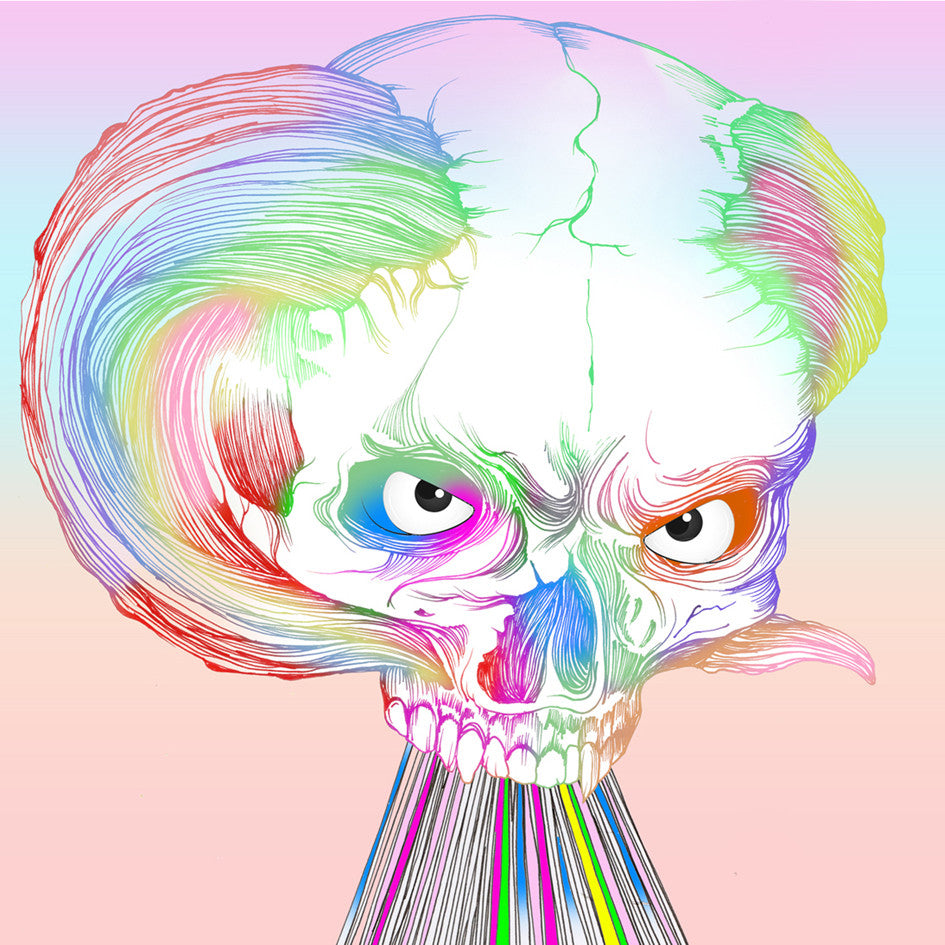 Rainbow Demon Print - Sarah Howell Limited Edition - 1