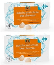 Lot de 2 x 56 Patchs anti-chute Dermastic