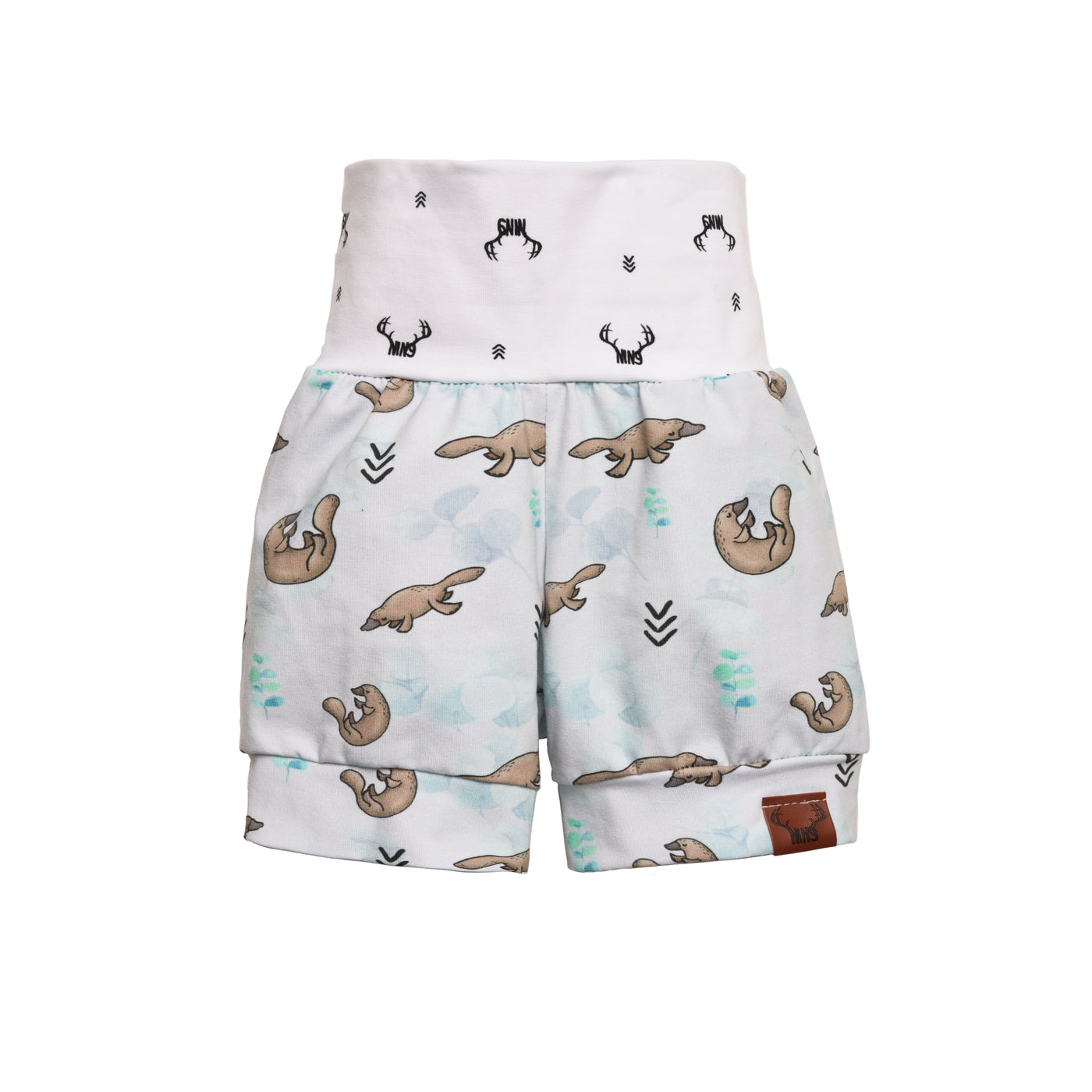 Platypus grow with me shorts