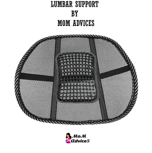 Lumbar Support for Car & Office by MoM AdviceS