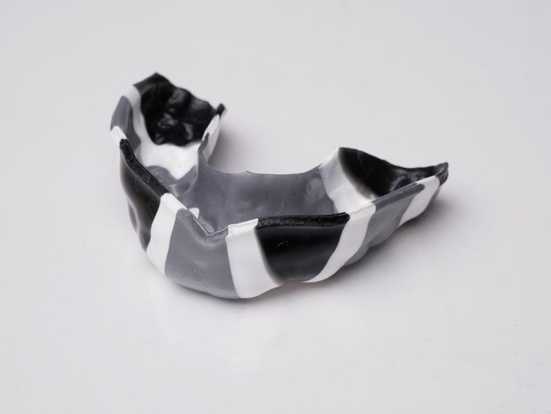Mouthguard blanks in flag patterns