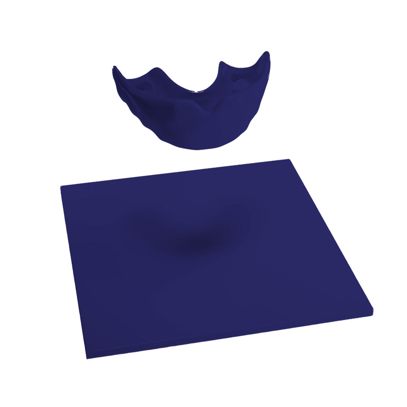"Mouthguard blanks in 4 mm/0.16"" thickness"