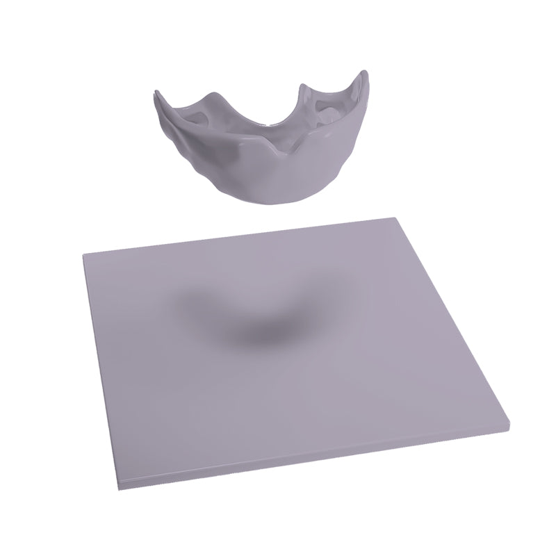 "Mouthguard blanks in 5 mm/0.2"" thickness"