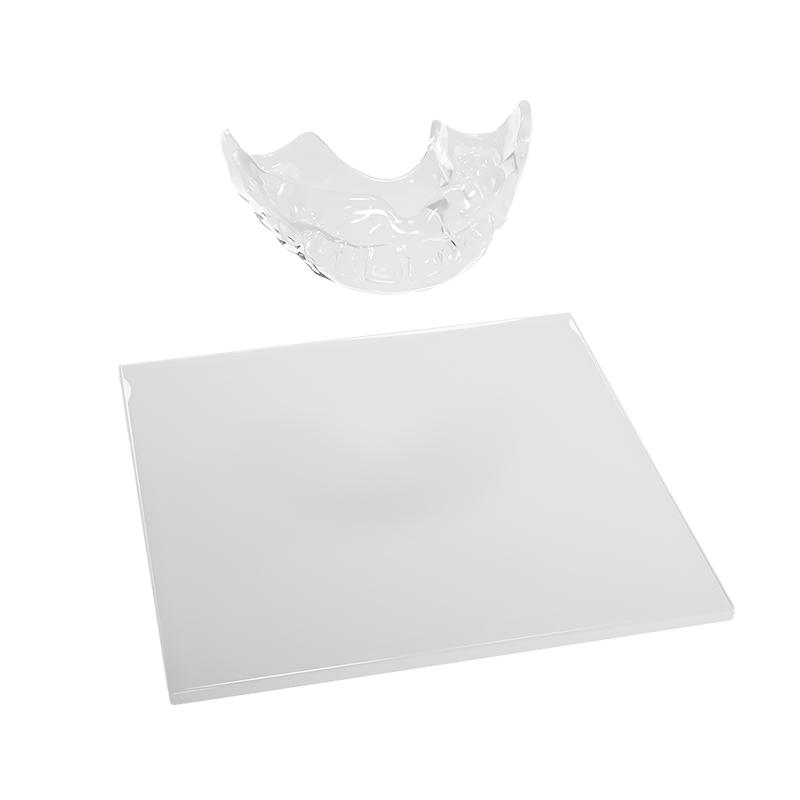 Clear mouthguard blanks