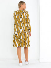 Load image into Gallery viewer, TIERED DRESS - Shadow Leaf