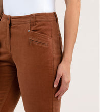 Load image into Gallery viewer, Slimeline Cord Pant Toffee