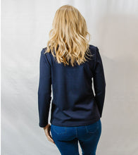 Load image into Gallery viewer, Everyday Long Sleeve Tee Navy