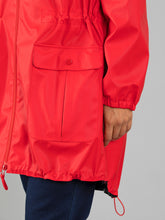 Load image into Gallery viewer, Waterproof Raincoat - Red Pepper