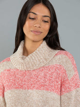 Load image into Gallery viewer, Stripe Marle Jumper - Cranberry Mix
