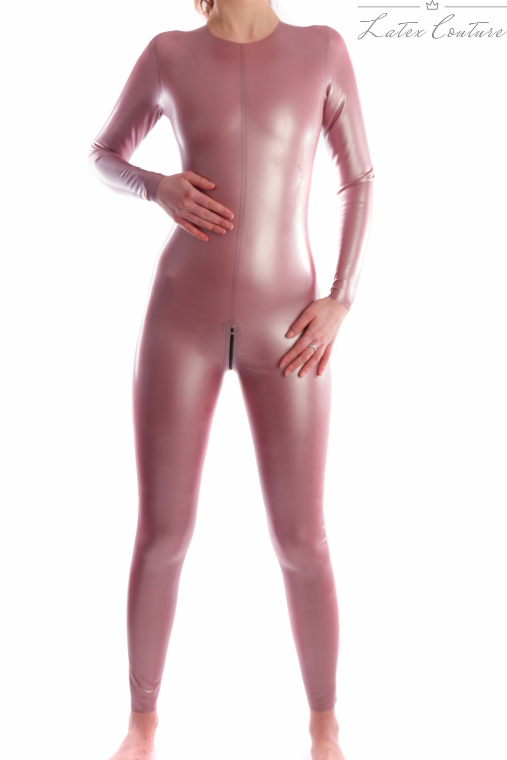 Latex Catsuit - Latex Collarless Catsuit