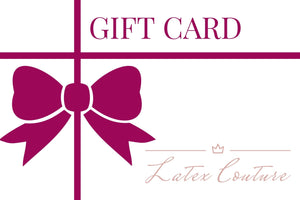 Latex Couture Gift Card £10