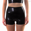 Latex Shorts - Latex High Waisted Mini Shorts £50