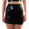 Latex Skirt - Latex High Waisted Mini Skirt