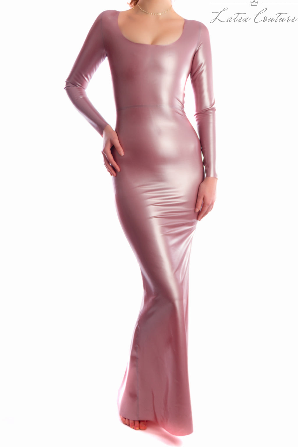 Latex Gown - Latex Long Sleeved Gown £230