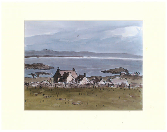 Kyffin Williams - Rhoscolyn Print