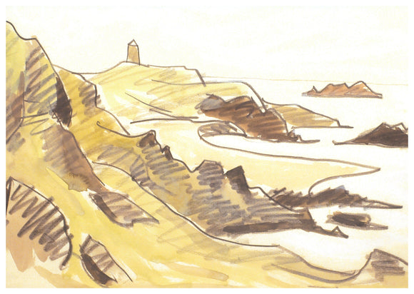 Kyffin Williams - Llanddwyn Card