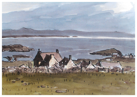 Kyffin WIlliams - Hirfron Rhoscolyn Card
