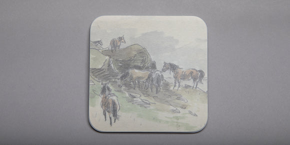 Kyffin Williams - Merlod Coaster