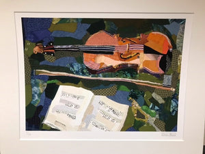 Edrica Huws Patchworks: The Viola Print