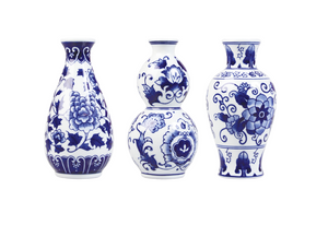 Bud Vase Trio Set