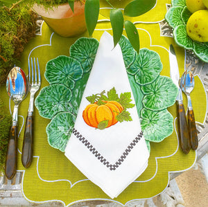 Pumpkin Patch Dinner Napkins (Set of 4)