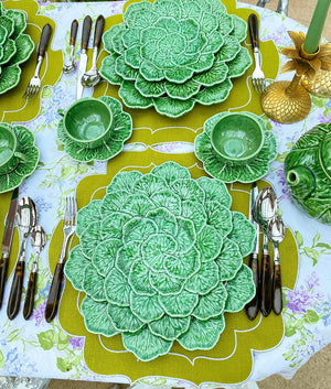 Geranium Leaf Side Plate