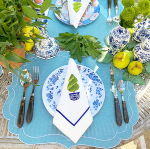 Topiary Tree Dinner Napkin (Set of 4)