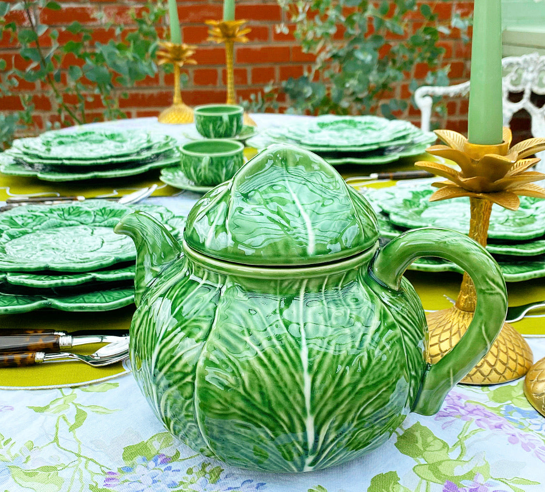 Cabbage Leaf Teapot