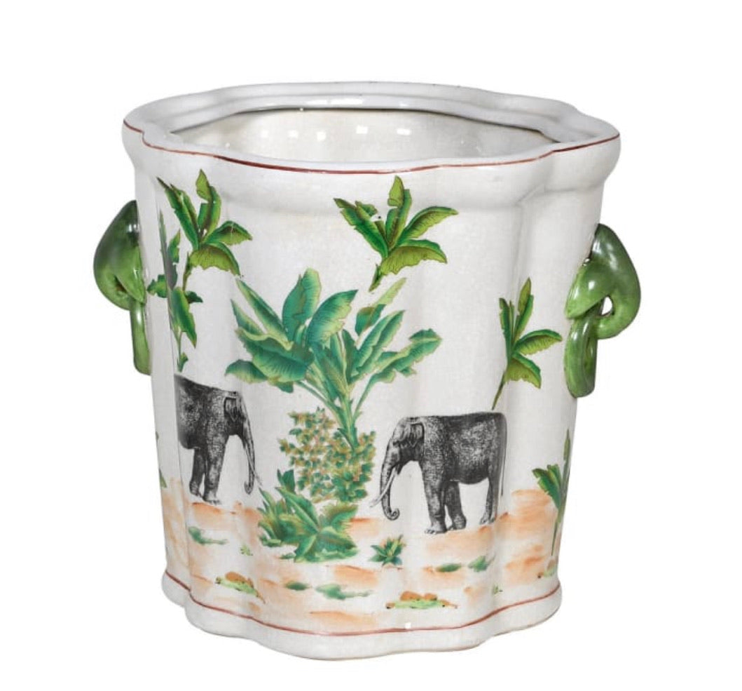 Elephant Safari Planter