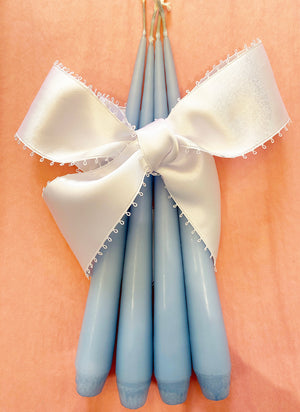 Ester & Eric Powder Blue Candles (Set of 4)