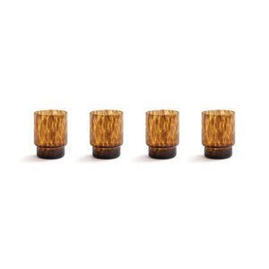 Tortoiseshell Glasses (Set of 4)