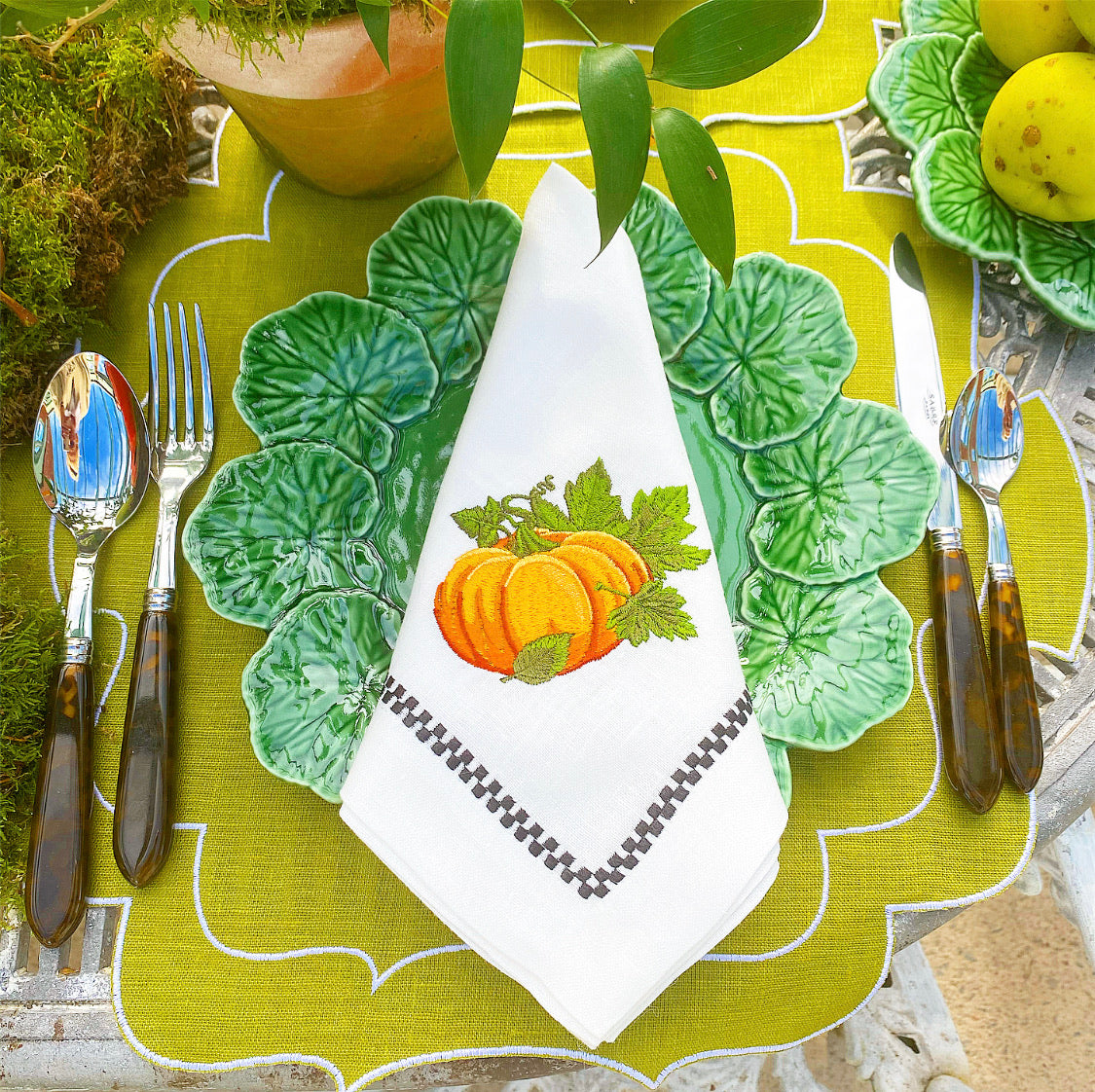 Pumpkin Patch Dinner Napkin