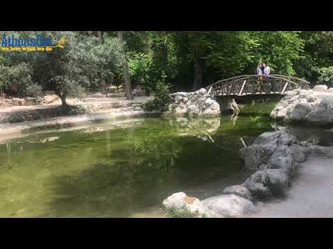What to see in Athens Greece - National Garden. Music / Bouzouki songs