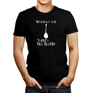 Idakoos Without The Bouzouki There's no Band T-Shirt L Black