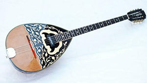 YAMO:: ACOUSTIC GREEK BOUZOUKIS WITH MASTEX PICKUP W/TRUSS ROD