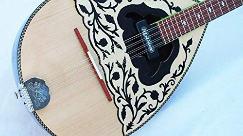 AMAR :: ACOUSTIC GREEK BOUZOUKIS WITH MASTEX PICKUP W/TRUSS ROD