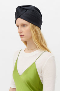 GENOVEFFA BLACK TURBAN
