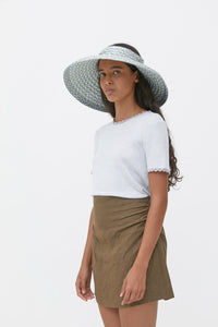 AURA BROWN VISCOSE HAT
