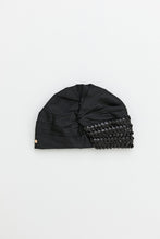 Load image into Gallery viewer, BLANCA BLACK TURBAN