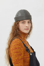 Load image into Gallery viewer, DENISE GREEN ECO-FRIENDLY LEATHER HAT