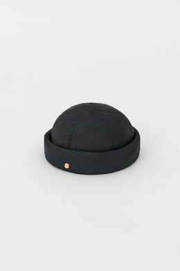 DENISE VISCOSE BLACK HAT
