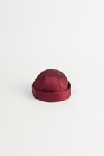 Load image into Gallery viewer, DENISE SCARLET MOIRE' HAT
