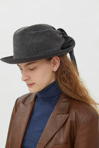 DINA GREY HAT