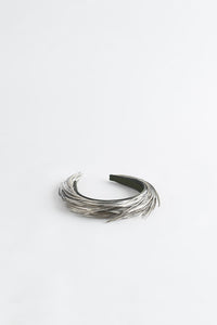 KELLY SILVER HAIR BAND