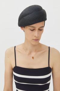 JULIE BLACK VISCOSE HAT
