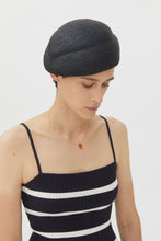 Load image into Gallery viewer, JULIE BLACK VISCOSE HAT