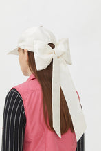 Load image into Gallery viewer, KIMBER WHITE MOIRE' HAT