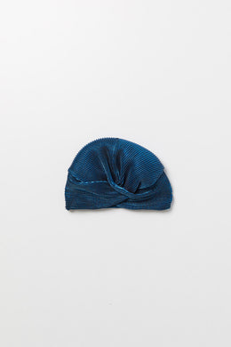 LOLA LIGHT BLUE TURBAN
