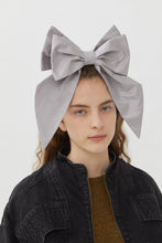 Load image into Gallery viewer, LULU' LILAC SHANTOUNG HEADDRESS